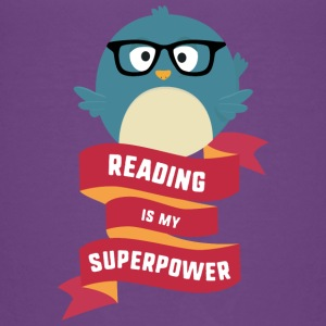 Reading is my Superpower S2g6d Baby & Toddler Shirts - Toddler Premium T-Shirt