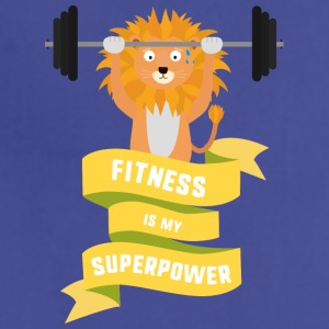 Fitness is my Superpower Shdub Aprons - Adjustable Apron