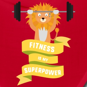 Fitness is my Superpower Shdub Caps - Bandana