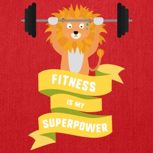 Fitness is my Superpower Shdub Bags & backpacks - Tote Bag