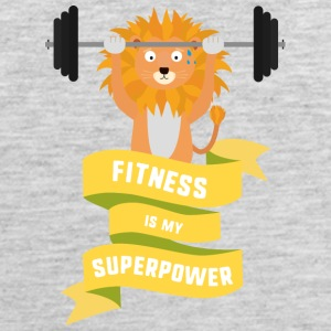 Fitness is my Superpower Shdub Sportswear - Men's Premium Tank