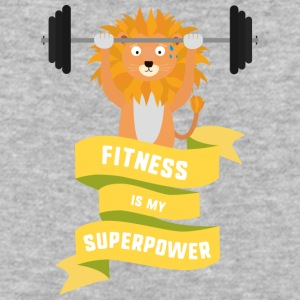 Fitness is my Superpower Shdub T-Shirts - Baseball T-Shirt