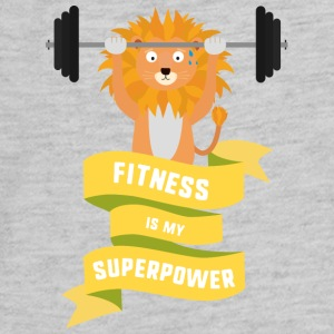 Fitness is my Superpower Shdub Kids' Shirts - Kids' Premium Long Sleeve T-Shirt