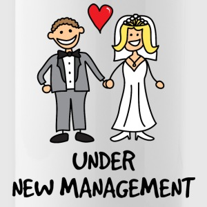 Wedding Bells - Under New Management - Water Bottle