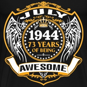 1944 73 Years Of Being Awesome July T-Shirts - Men's Premium T-Shirt