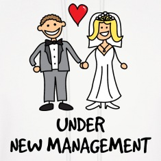 Wedding - Under New Management Hoodies