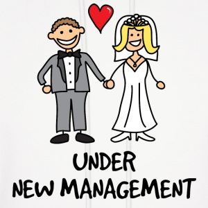 Wedding - Under New Management Hoodies - Men's Hoodie
