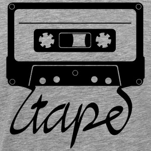 Tape cassette Shirt - Men's Premium T-Shirt