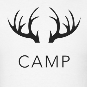 Camp Antler T-Shirts - Men's T-Shirt