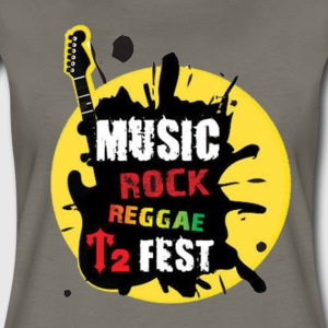 Music Rock Reggae - Women's Premium T-Shirt