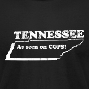 TENNESSEE STATE SLOGAN T-Shirts - Men's T-Shirt by American Apparel
