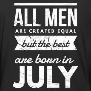 July Birthday men T-Shirts - Baseball T-Shirt