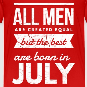 July Birthday men Kids' Shirts - Kids' Premium T-Shirt