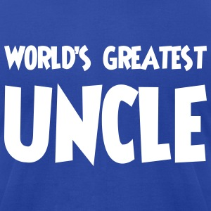 World's greatest uncle - Men's T-Shirt by American Apparel