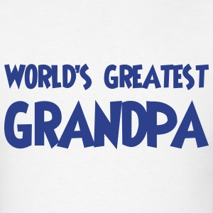 World's greatest grandpa - Men's T-Shirt