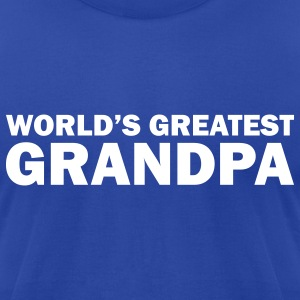 World's greatest grandpa - Men's T-Shirt by American Apparel