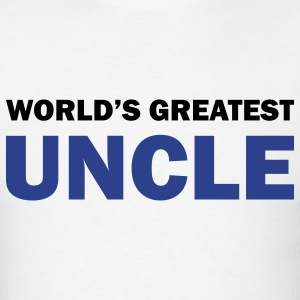 World's greatest uncle - Men's T-Shirt