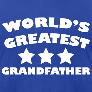 World's greatest grandfather - Men's T-Shirt by American Apparel