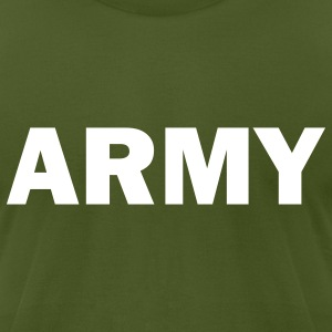 Army - Men's T-Shirt by American Apparel