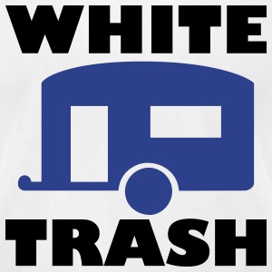 White trash - Men's T-Shirt by American Apparel
