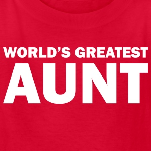 World's greatest aunt - Kids' T-Shirt