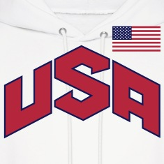 usa_olympic-sign_&_flag_3c Hoodies