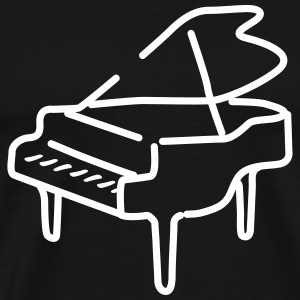 piano T-Shirts - Men's Premium T-Shirt