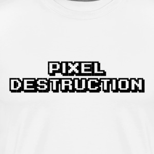 Pixel Destruction - Men's Premium T-Shirt