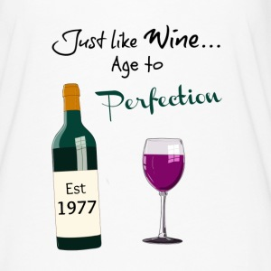 Age to perfection 40th birthday wine - Women's Flowy T-Shirt