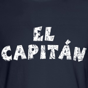 El Capitán Vintage White Long Sleeve Shirts - Men's Long Sleeve T-Shirt