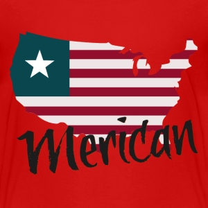 Merican - Toddler Premium T-Shirt