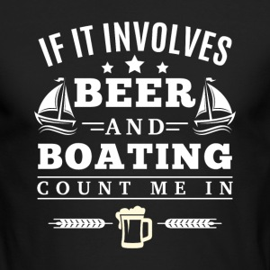 BEER and BOATING Long Sleeve Shirts - Men's Long Sleeve T-Shirt by Next Level