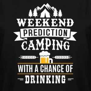Weekend Prediction T-Shirts - Men's Tall T-Shirt
