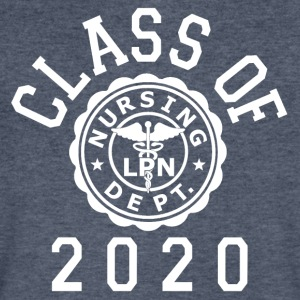 Class Of 2020 LPN T-Shirts - Men's V-Neck T-Shirt by Canvas