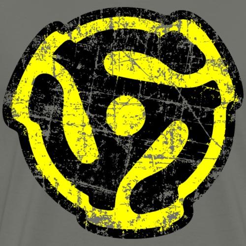 45 rpm Adaptor Vintage Yellow