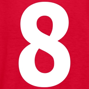Team letter eight 8 - Kids' T-Shirt