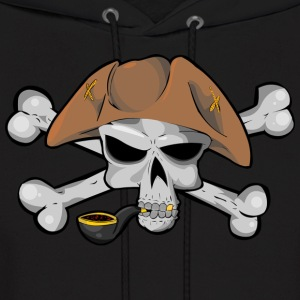 Skull And Bones (Pirate) - Men's Hoodie