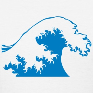 Powerful Wave T-Shirts - Women's T-Shirt