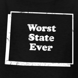 WYOMING - WORST STATE EVER Kids' Shirts - Kids' T-Shirt