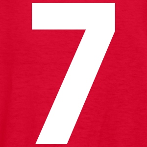 Team letter seven 7 - Kids' T-Shirt