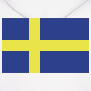 Sweden - Swedish flag with correct dimensions - Men's Hoodie