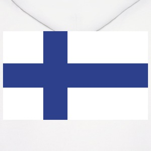 Finland- Finnish flag with correct dimensions - Men's Hoodie