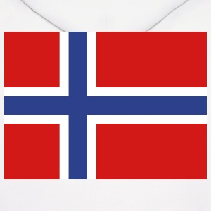 Norway- Norwegian flag with correct dimensions - Men's Hoodie