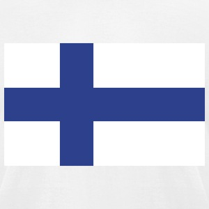 Finland- Finnish flag with correct dimensions - Men's T-Shirt by American Apparel