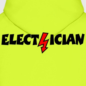 Electrician with a Lightning Hoodies - Men's Hoodie