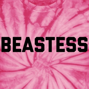 Beastess Gym Quote  T-Shirts - Unisex Tie Dye T-Shirt