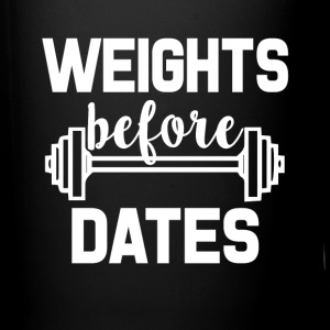 Weights before Dates coffee mugs - Full Color Mug