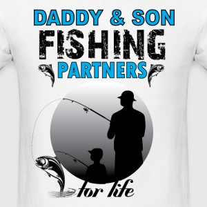 Daddy & Son Fishing Partners ForLife T-Shirts - Men's T-Shirt