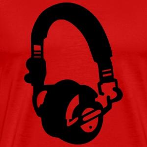 headphones T-Shirts - Men's Premium T-Shirt