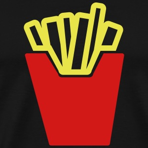 fries T-Shirts - Men's Premium T-Shirt